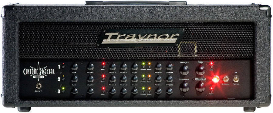 traynor 3 channel 100 watt all tube guitar head long mcquade musical instruments. Black Bedroom Furniture Sets. Home Design Ideas